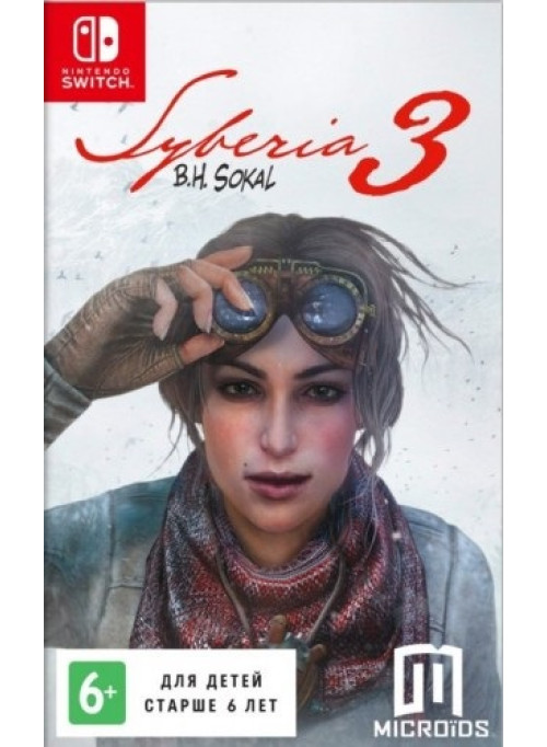 Syberia 3 (Сибирь 3) (Nintendo Switch)