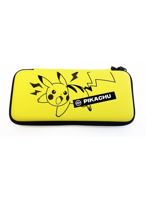 Защитный чехол Hori Emboss case Pikachu (NSW-217U) (Nintendo Switch)