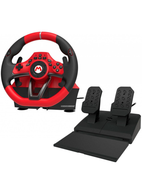 Руль с педалями Hori Mario Kart Racing Wheel Pro Deluxe (NSW-228U) (Nintendo Switch)