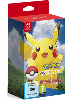 Pokemon: Let's Go, Pikachu! + Poke Ball Plus Pack (Nintendo Switch)