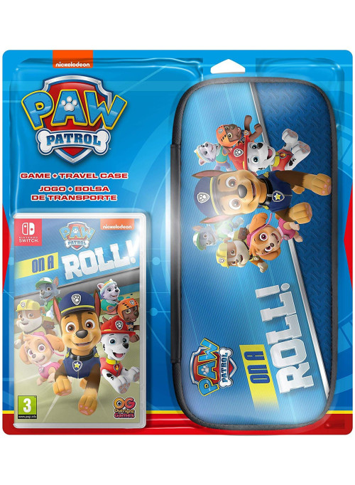 PAW Patrol: On a Roll (Щенячий патруль) + Чехол (Nintendo Switch)