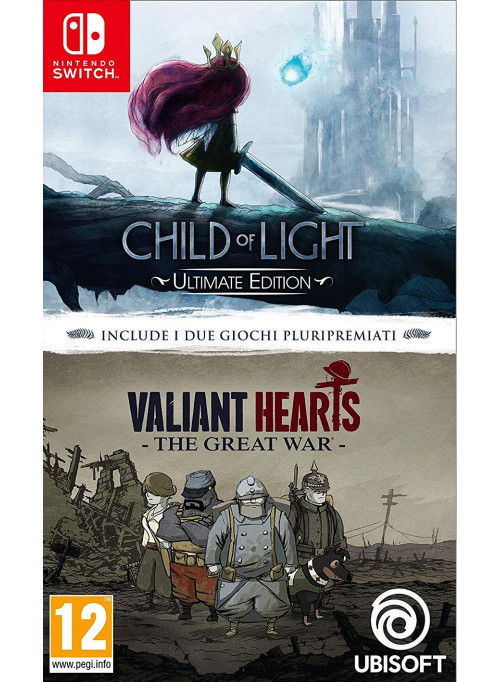 Child of Light Ultimate Edition + Valiant Hearts The Great War (Nintendo Switch)