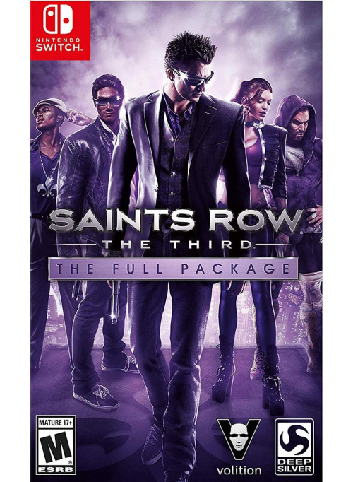 Saints Row: The Third - The Full Package (Nintendo Switch)