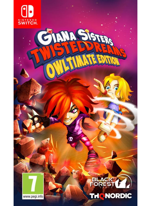 Giana Sisters: Twisted Dream Owltimate Edition (Nintendo Switch)
