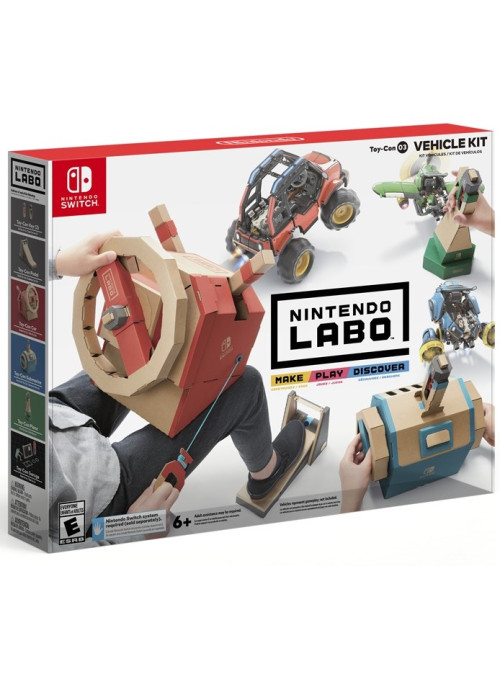 Nintendo Labo: Vehicle Kit (набор Транспорт) (Nintendo Switch)