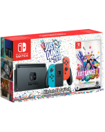Игровая приставка Nintendo Switch (Neon Red/Neon Blue) + Игра Just Dance 2019
