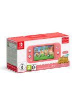 Игровая приставка Nintendo Switch Lite (кораллово-розовый) + Animal Crossing: New Horizons + NSO 3 месяца