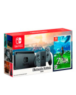 Игровая приставка Nintendo Switch (Gray) + The Legend of Zelda: Breath of the Wild
