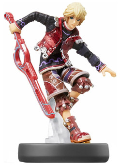 Фигурка Amiibo Шулк (Shulk) - Super Smash Bros Collection (Nintendo Switch)