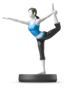 Фигурка Amiibo Тренер Wii Fit (Wii Fit Trainer) - Super Smash Bros Collection (Nintendo Switch)