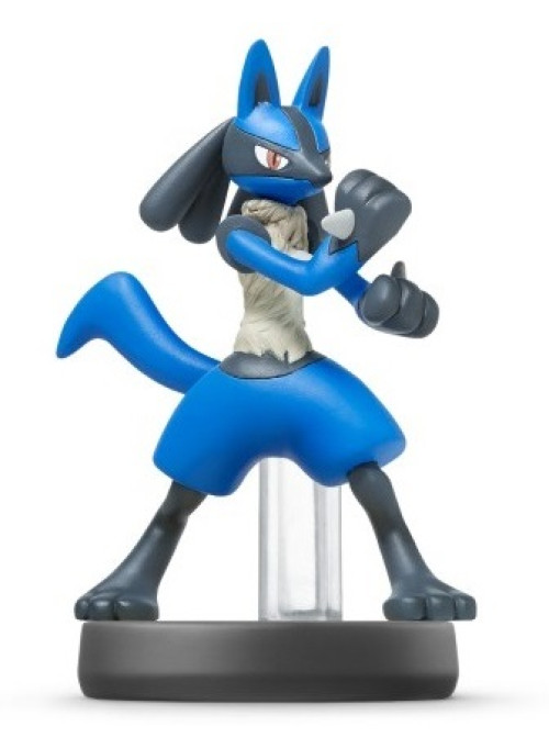 Фигурка Amiibo Лукарио (Lucario) - Super Smash Bros Collection (Nintendo Switch)