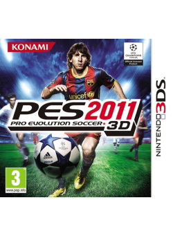 Pro Evolution Soccer 2011 3D (3DS)