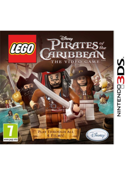 LEGO Pirates of the Caribbean (Пираты Карибского Моря 4) The Video Game (Nintendo 3DS)