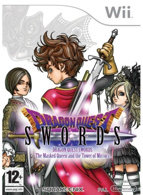 Dragon Quest Swords The Masked Queen and the Tower of Mirrors (Nintendo Wii)
