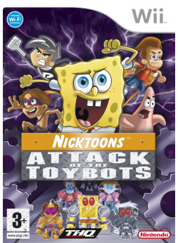 SpongeBob & Friends: Attack of the Toybots (Wii)