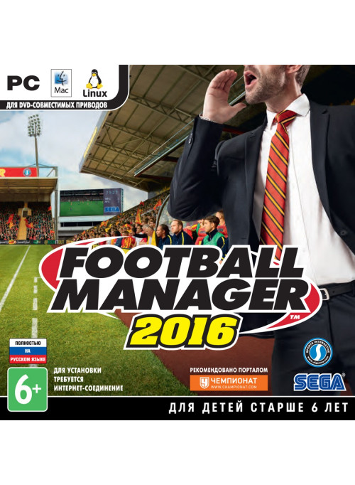 Football Manager 2016 Jewel (PC)