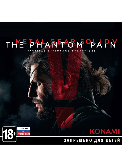 Metal Gear Solid 5 (V): The Phantom Pain Day One Edition (PC-Jewel)