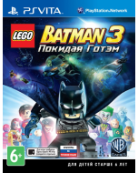 LEGO Batman 3: Beyond Gotham (Лего Бэтман 3: Покидая Готэм) (PS Vita)