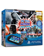 Игровая консоль Sony PlayStation Vita Slim Wi-Fi Black + 8GB + промокод Action MegaPack (PCH-2008)