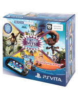 Игровая консоль Sony PlayStation Vita Slim Wi-Fi Black + 8GB + промокод HITS MegaPack (PCH-2016)