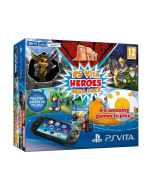 Игровая консоль Sony PlayStation Vita Slim Wi-Fi Black + 8GB + промокод HEROES MegaPack (PCH-2016)