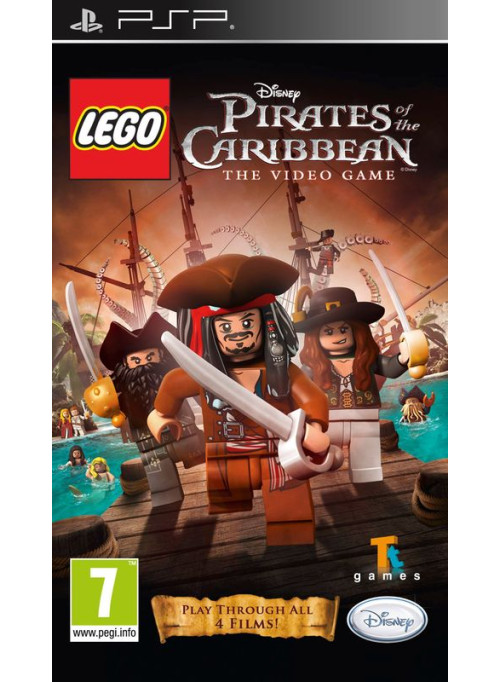 LEGO Pirates of the Caribbean (Пираты Карибского Моря) The Video Game (PSP)