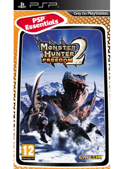 Monster Hunter Freedom 2 (Essentials) (PSP)