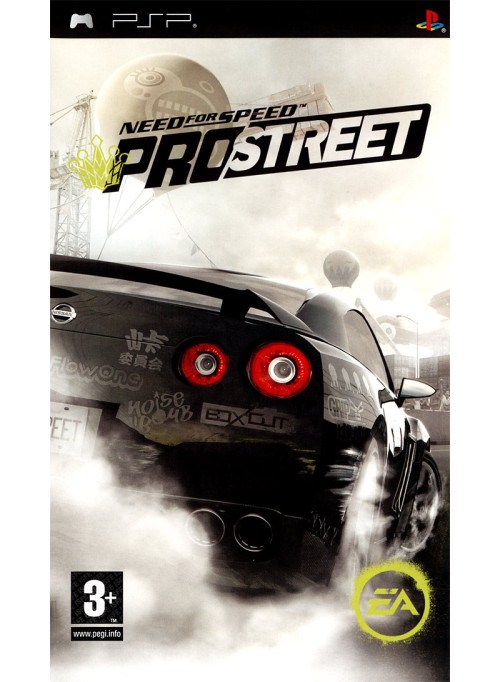 Need for Speed: ProStreet (PSP)