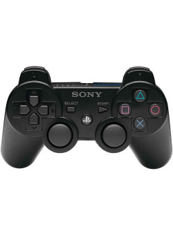 Джойстик беспроводной Controller Wireless Sony Dual Shock 3 Black Original (из комплекта) (PS3)