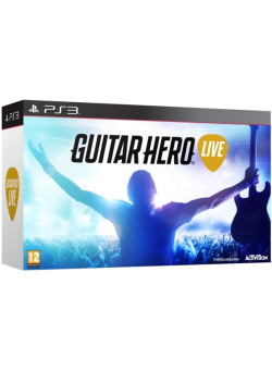 Guitar Hero: Live Bundle Гитара + игра (PS3)