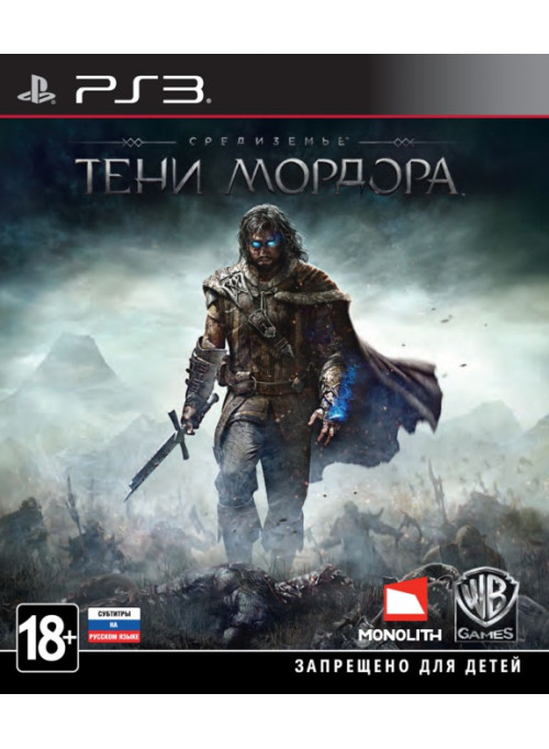 Средиземье: Тени Мордора (Middle-earth: Shadow of Mordor) Английская Версия (PS3)