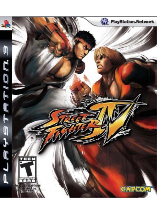 Street Fighter 4 (IV) (PS3)