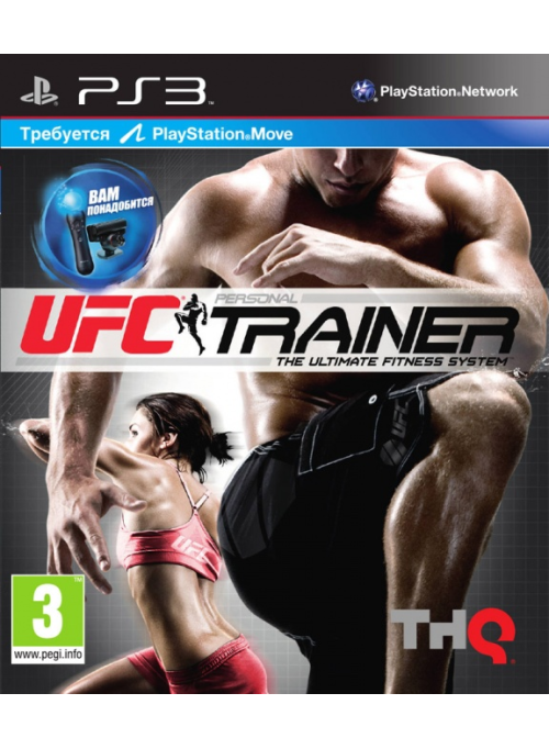 UFC Personal Trainer: The Ultimate Fitness System + Ремешок на ногу (PS3)