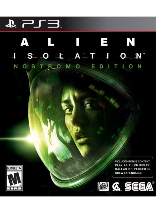 Alien: Isolation Nostromo Edition (Английская Версия) (PS3)