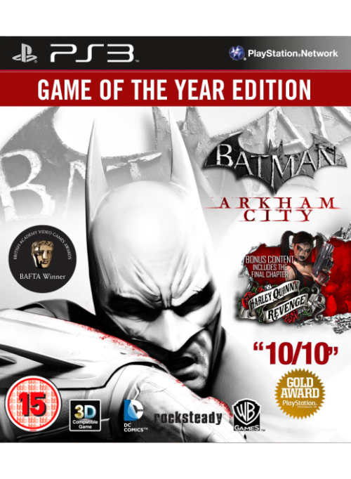 Batman: Аркхем Сити (Arkham City) Издание Игра Года (Game of the Year Edition) (PS3)
