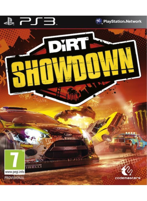 DiRT Showdown: игра для Sony PlayStation 3