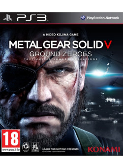 Metal Gear Solid 5 (V): Ground Zeroes (PS3)