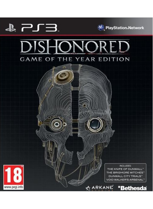 Dishonored Издание Игра Года (Game of the Year Edition) (PS3)