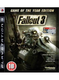 Fallout 3 Game of the Year Edition (Издание Игра Года) (PS3)