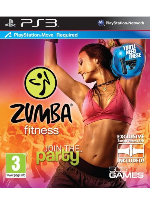 Zumba Fitness для PlayStation Move (PS3)