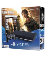 Игровая консоль Sony PlayStation 3 Super Slim 12Gb + Одни из нас (CECH-4308A)
