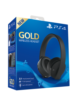 Гарнитура беспроводная Sony Gold Wireless Stereo Headset PS4/PS3/PS Vita (CUHYA-0080)