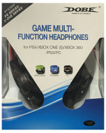 Гарнитура проводная Dobe Game Multi-Function Headphones 5 в 1 для PS3/PS4/Xbox360 / XboxOne/PC (TY-836)