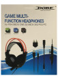Гарнитура проводная Dobe Game Multi-Function Headphones 5 в 1 для PS3/PS4/Xbox360/XboxOne/PC (TY-836)