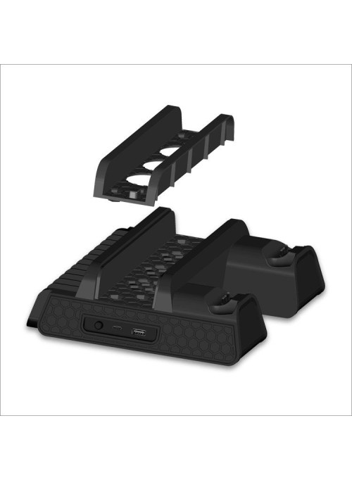 Вертикальная подставка Multi-Functional Cooling Stand для (PS4/PS4 Slim /PS4 Pro) Dobe (TP4-882) (PS4)