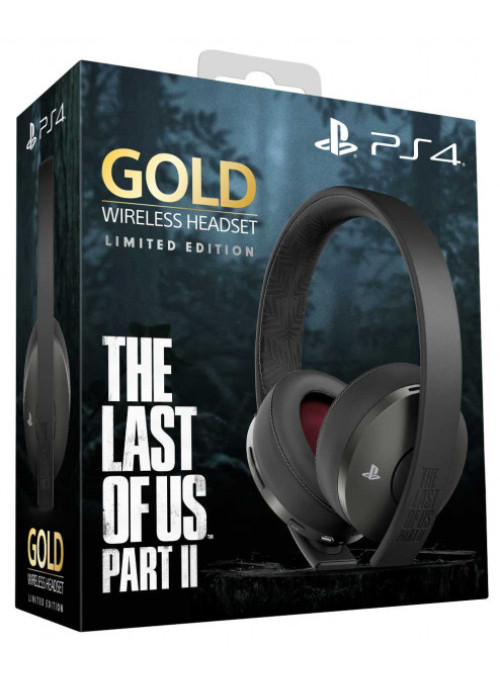 Гарнитура беспроводная Sony Gold Wireless Headset The Last Of Us Part II: Limited Edition PS4/PS3/PS Vita (CUHYA-0080)