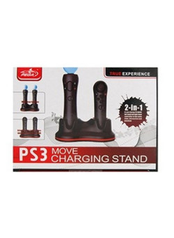 Зарядная станция PEGA Double Charger Charging Dock Stand для контроллеров Move (PS3)