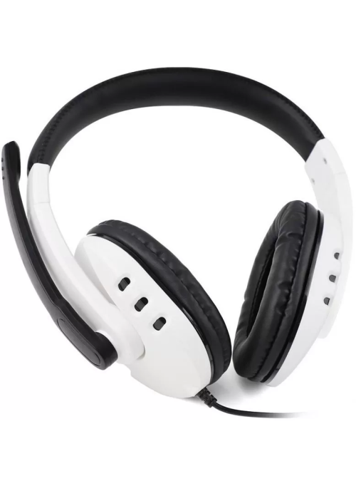 Гарнитура проводная 3 в 1 Stereo Gaming Headphone DOBE White (TY-0820) WIN/PS4/Xbox One/Switch/Android/IOS