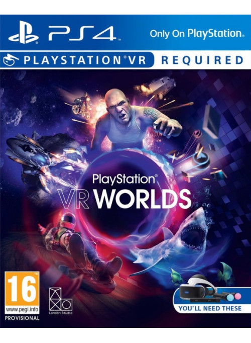 PlayStation VR Worlds (только для PS VR) (PS4)