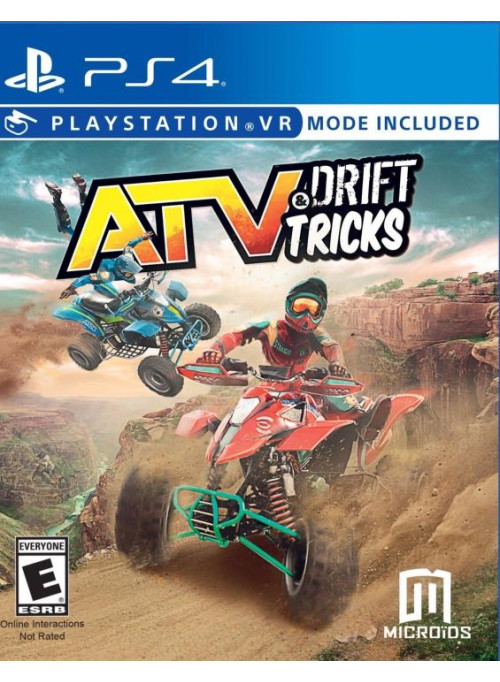 ATV Drift and Tricks (с поддержкой VR) (PS4)